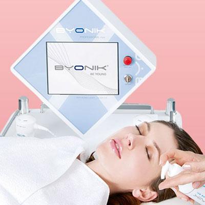 byonik laser pulse anti ageing facials Helen Taylor Aesthetics Salon, Rugby, Warwickshire, Byonik laser treatments UK