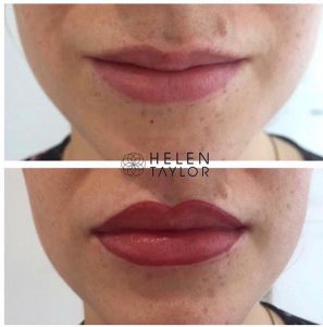 permanent make up, helen taylor aesthetics clinic, rugby, warwickshire