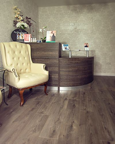 Helen Taylor Aesthetics Clinic in Rugby, Warwickshire, Reception